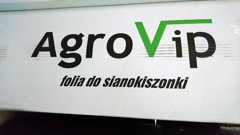 Folia do sianokiszonki Agro Vip